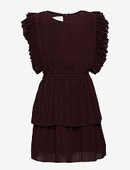 Designers Remix Girls - LR Kennedy Dress - mekot - rouge noir - 1