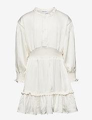 Designers Remix Girls - G Emme Sleeve Dress - kjoler - cream - 1