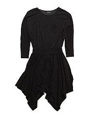 Jr New Blos Dress - BLACK