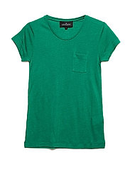LR New Blos Tee - APPLE GREEN