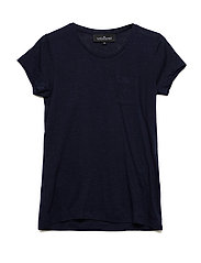 LR New Blos Tee - NAVY