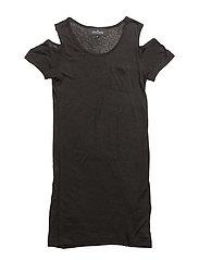 LR New Blos Slit Sleeve - BLACK