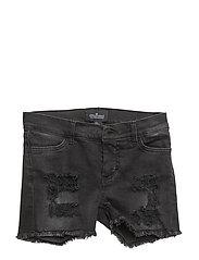 LR Moon Destroyed Shorts - BLACK