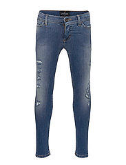 LR Blue Moon Destroyed - MEDIUM DENIM