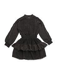 LR Lea Shirt dress - BLACK