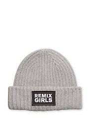 LR Sydni Badge Hat - LIGHT GREY MELANGE