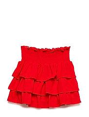 LR Lea Skirt - LIPSTICK RED