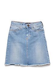 LR Blue Moon Skirt - LIGHT DENIM