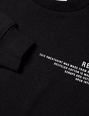 Designers Remix Girls - LR Logan Text Sweat - svetarit - black - 2