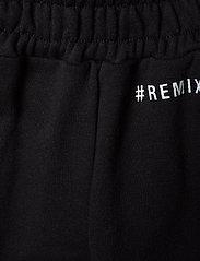 Designers Remix Girls - LR Logan Text Pant - verryttelyhousut - black - 3