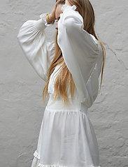 Designers Remix Girls - G Emme Sleeve Dress - kjoler - cream - 3
