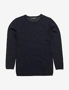 Jr Aza Slim New - trøjer - navy