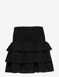 LR Byron Ruffle Skirt - BLACK