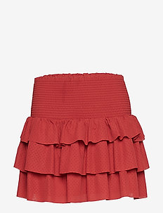 LR Byron Ruffle Skirt - hameet - ox blood