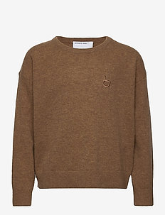 G Sterling Sweater - strikkevarer - light brown