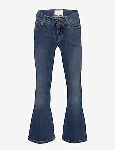 G Blossom Flare - jeans - medium denim