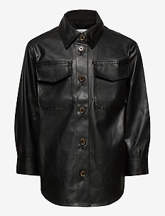 G Marie Shirt Coat - skinnjakker - black
