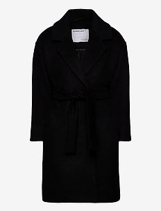 G Julie Coat - ull-klær - black