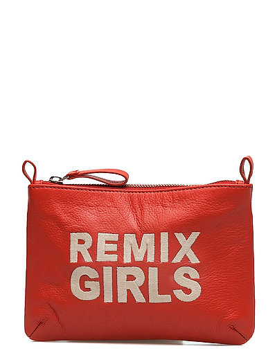 LR Pouch Embroidery - RED