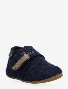 Baby velcro unicolored - pantoufles - deep blue