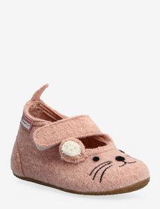 baby ballerina little mouse - pantoufles - rose cloud