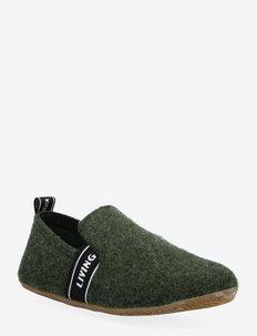 slipper felt LK lettering - pantoufles - fango