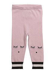 cashmere pants - PINK ROSE/SLEEPING CUTIE
