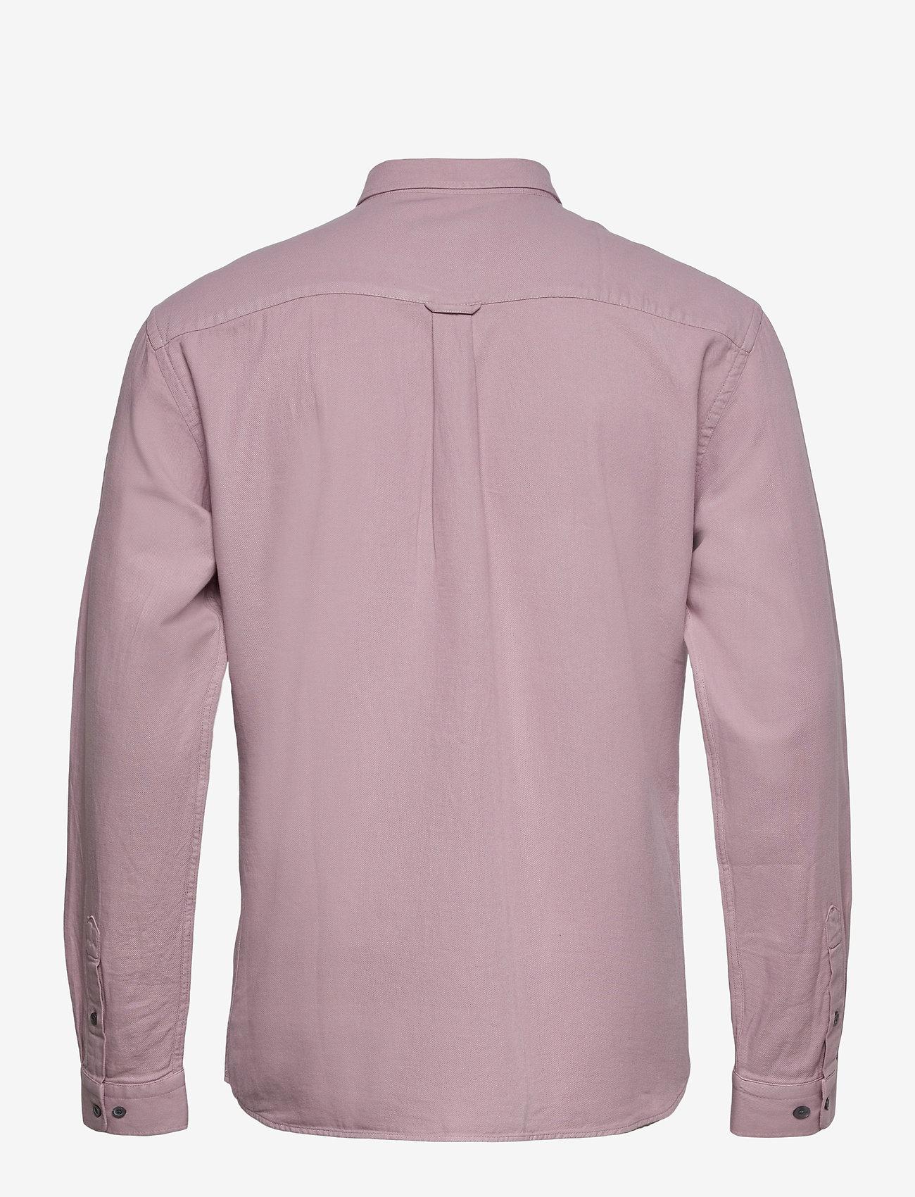LJUNG by Marcus Larsson - Washed Twill Shirt - chemises de lin - mauve purple - 2