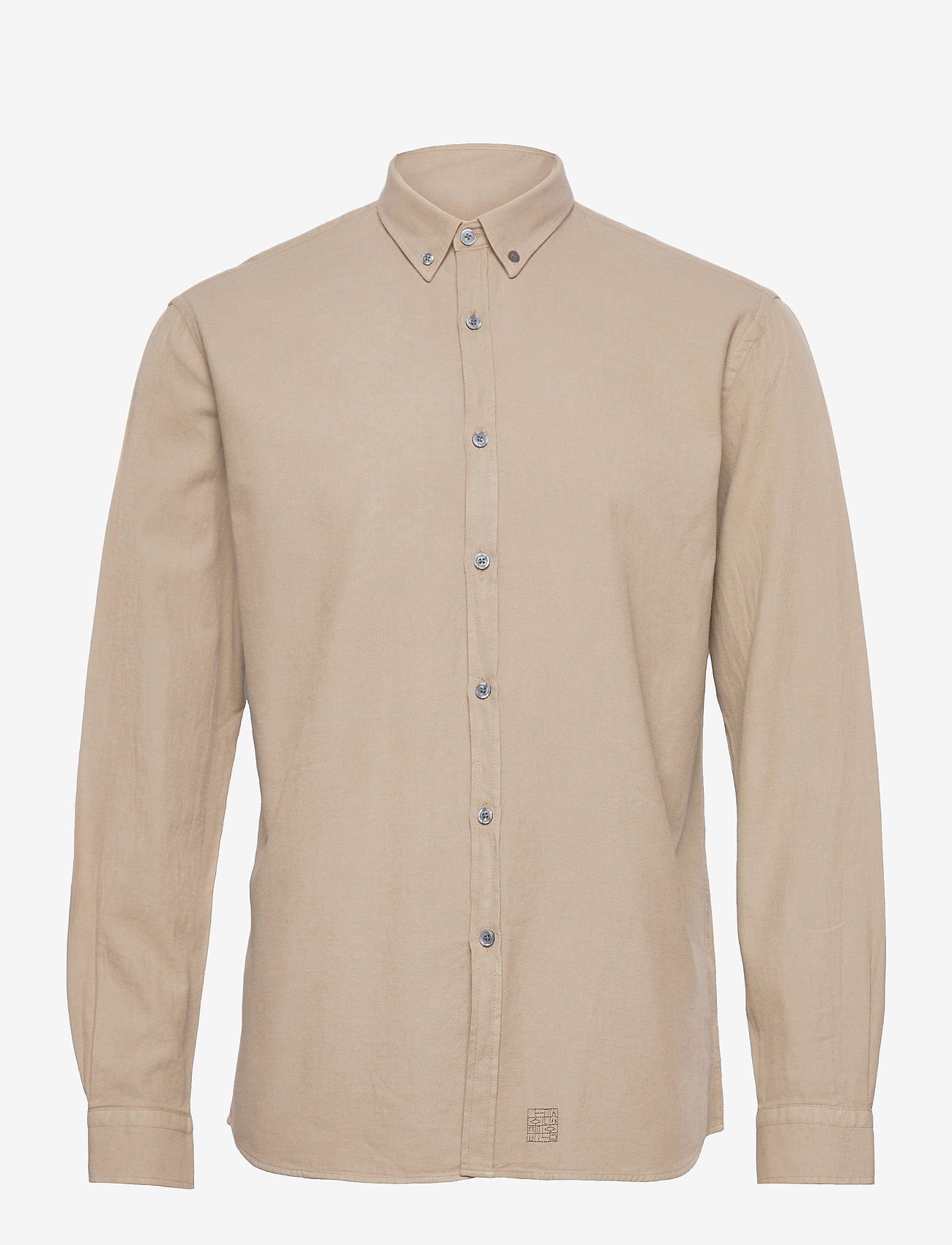 LJUNG by Marcus Larsson - Washed Twill Shirt - chemises à carreaux - sand - 1