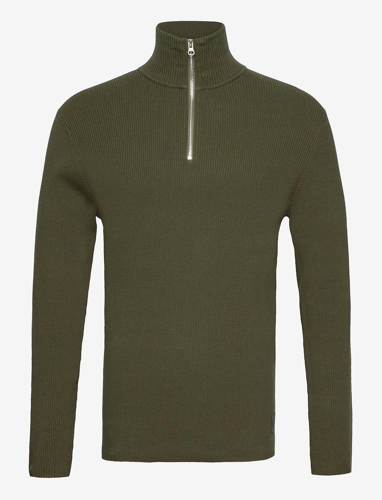 LJUNG by Marcus Larsson - Half Zip Sweater - half zip - forest green - 1