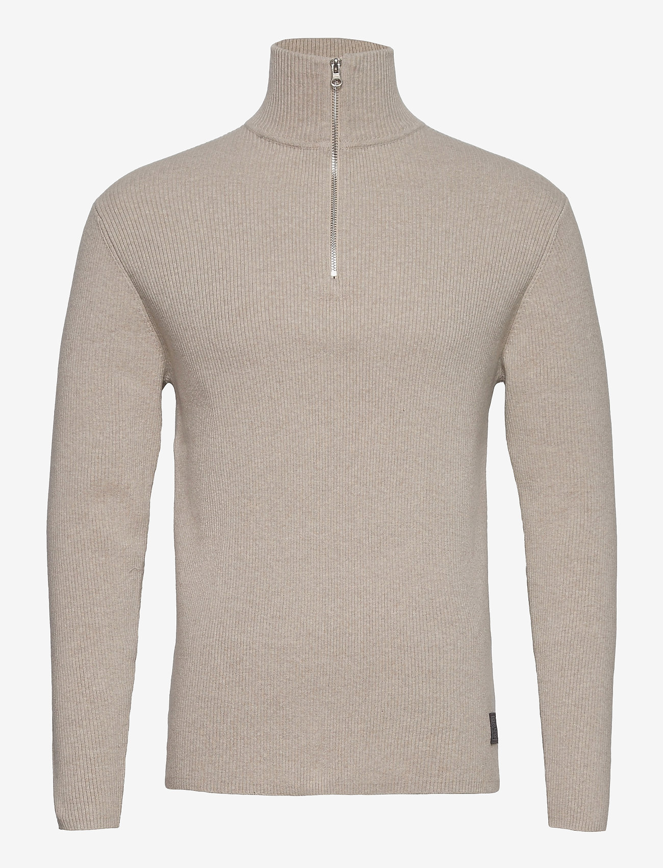 LJUNG by Marcus Larsson - Half Zip Sweater - half zip - nature mel - 1