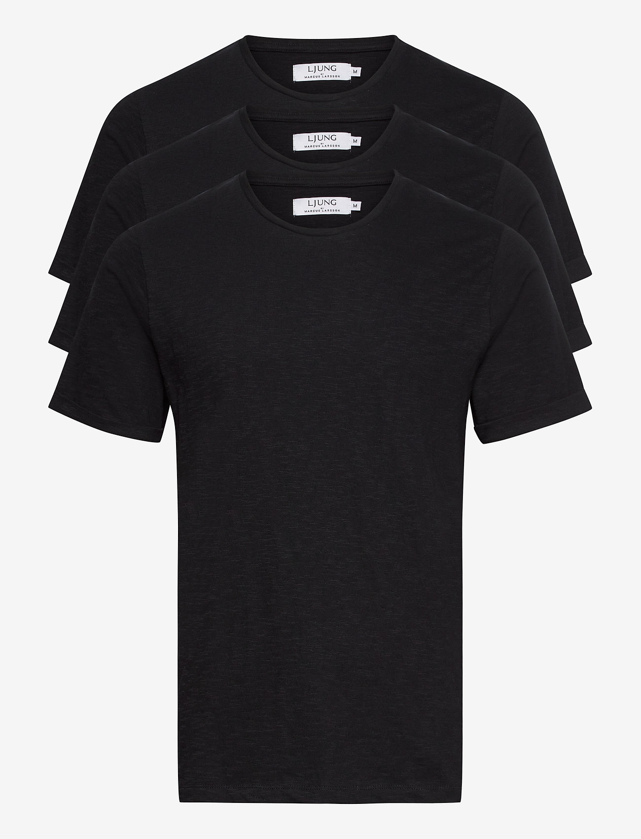 LJUNG by Marcus Larsson - Coretee 3-pack - basic t-shirts - black - 0