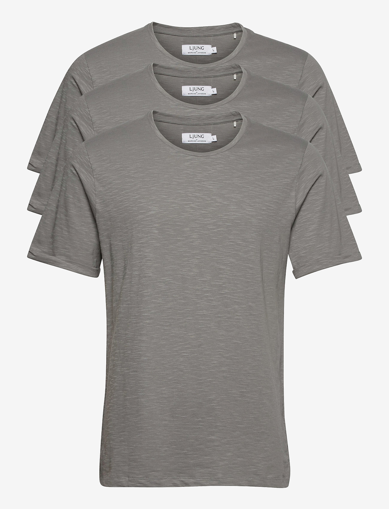 LJUNG by Marcus Larsson - Coretee 3-pack - basic t-shirts - lt grey - 0