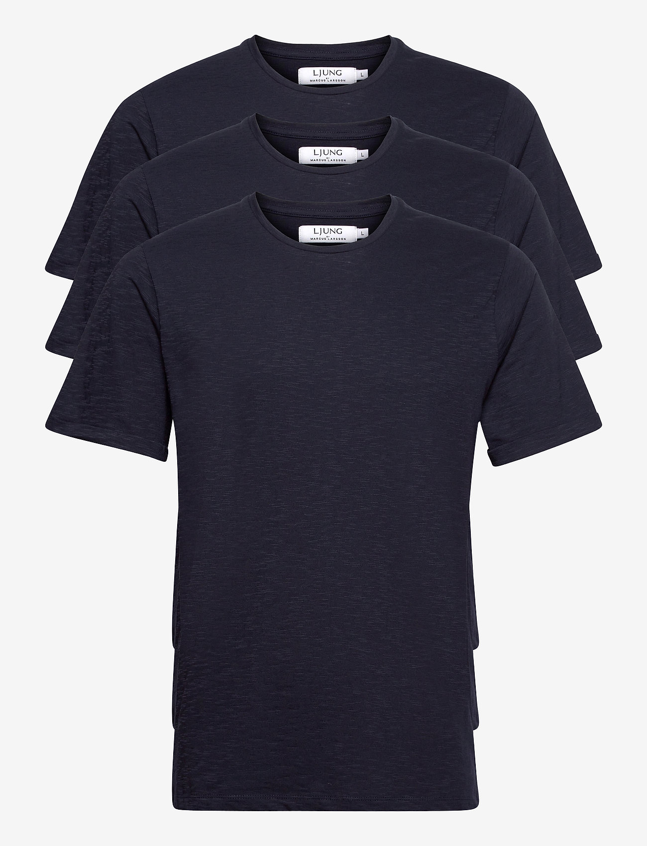 LJUNG by Marcus Larsson - Coretee 3-pack - basic t-shirts - navy - 0