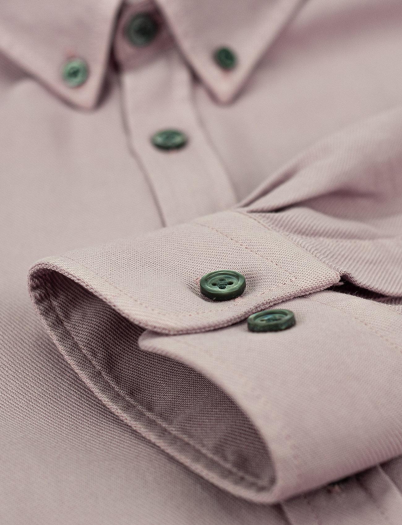 LJUNG by Marcus Larsson - Washed Twill Shirt - chemises de lin - mauve purple - 3