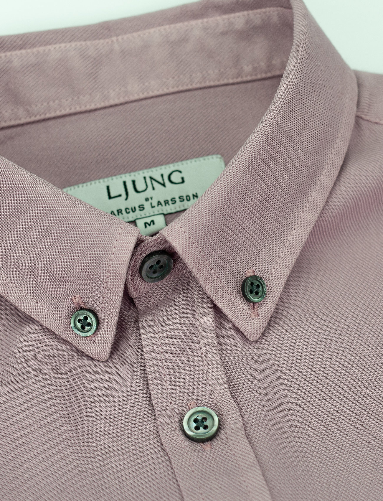 LJUNG by Marcus Larsson - Washed Twill Shirt - chemises de lin - mauve purple - 4