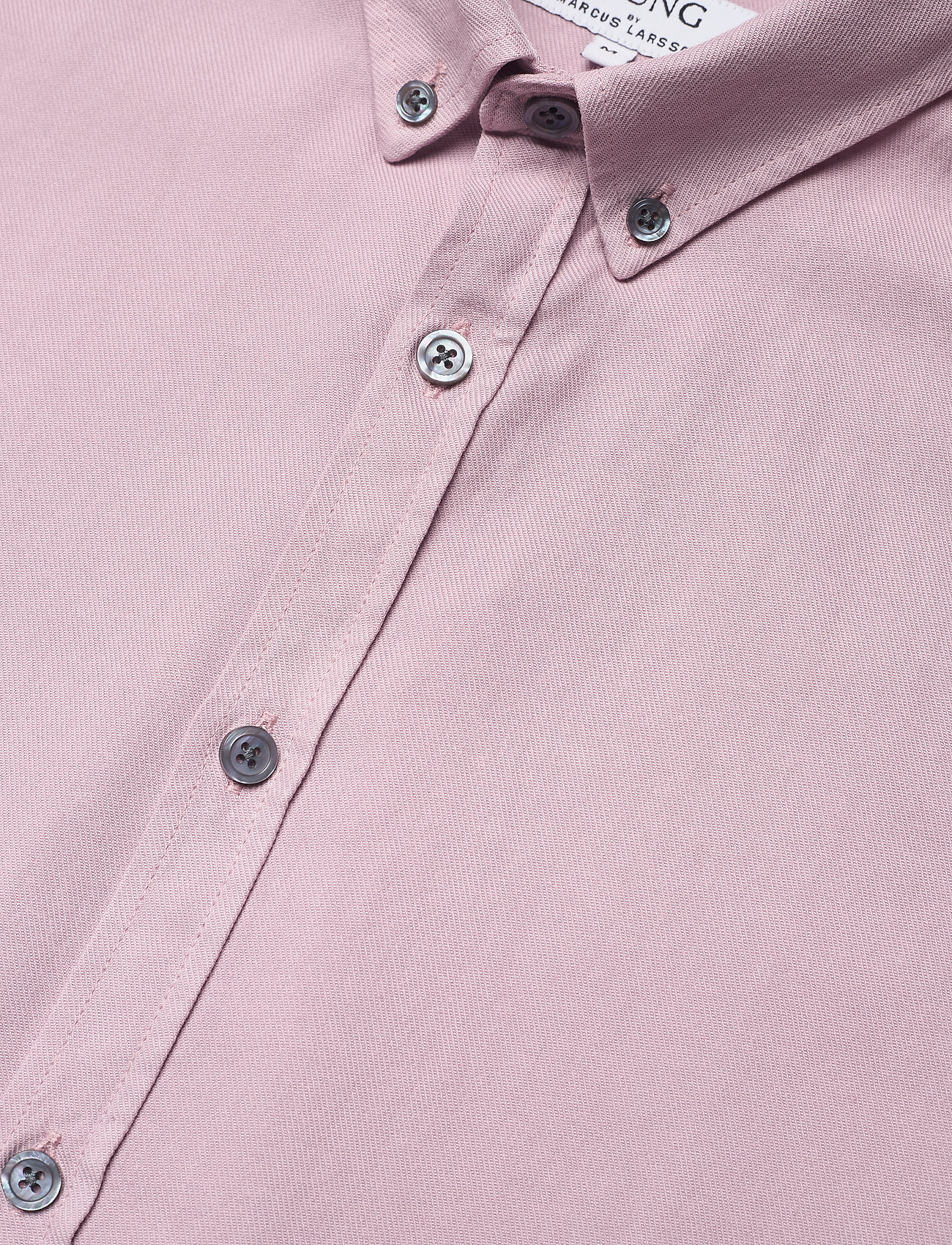 LJUNG by Marcus Larsson - Washed Twill Shirt - geruite overhemden - mauve purple - 7