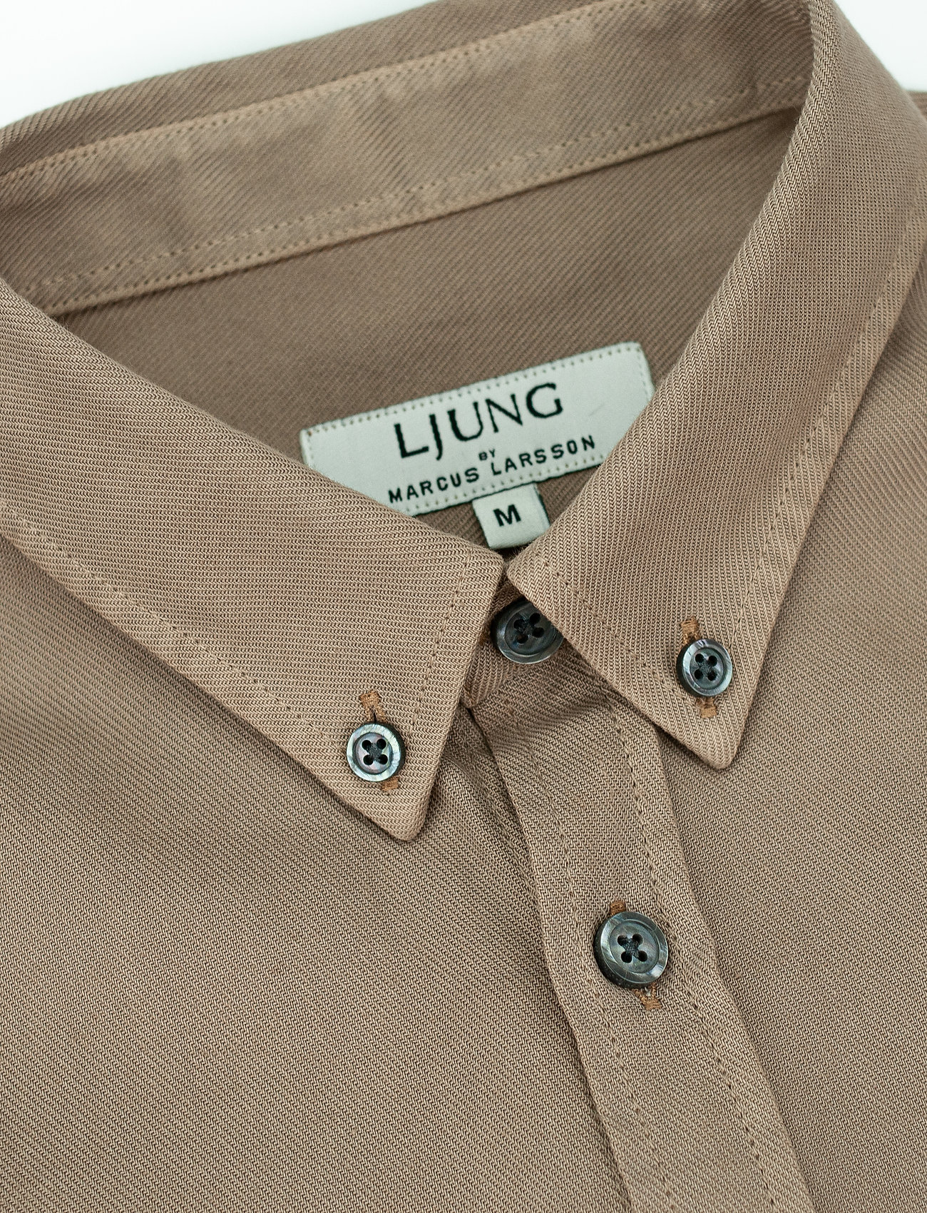 LJUNG by Marcus Larsson - Washed Twill Shirt - chemises à carreaux - sand - 5