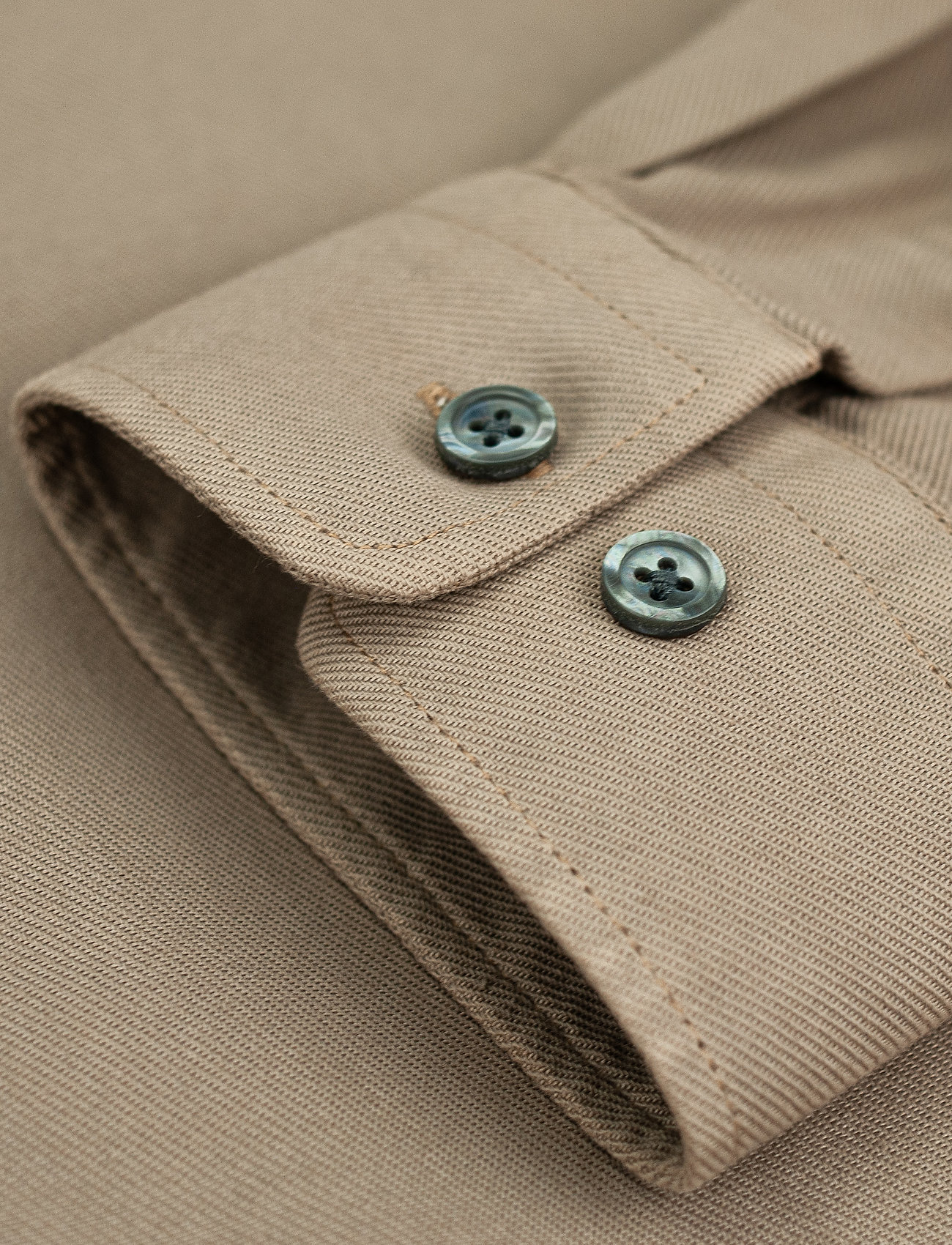LJUNG by Marcus Larsson - Washed Twill Shirt - chemises à carreaux - sand - 6