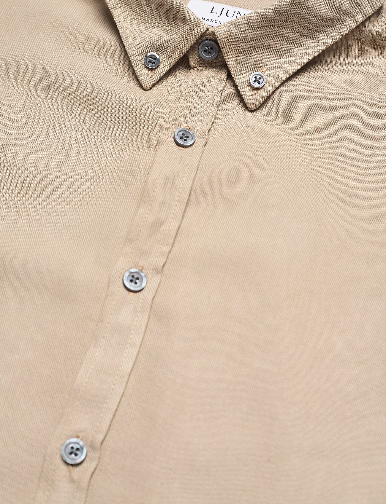 LJUNG by Marcus Larsson - Washed Twill Shirt - chemises à carreaux - sand - 9