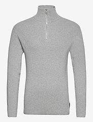 LJUNG by Marcus Larsson - Half Zip Sweater - half zip - lt grey mel - 1