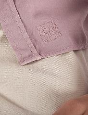 LJUNG by Marcus Larsson - Washed Twill Shirt - chemises de lin - mauve purple - 5
