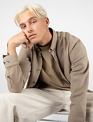 LJUNG by Marcus Larsson - Washed Twill Shirt - chemises à carreaux - sand - 3