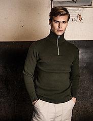 LJUNG by Marcus Larsson - Half Zip Sweater - half zip - forest green - 0