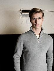 LJUNG by Marcus Larsson - Half Zip Sweater - half zip - lt grey mel - 0