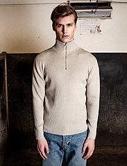 LJUNG by Marcus Larsson - Half Zip Sweater - half zip - nature mel - 3