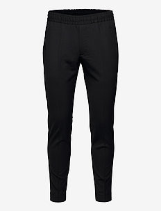 Tailored Track Trousers - casual trousers - black
