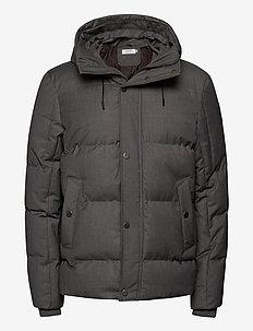 Vegan Puffer Jacket - vestes matelassées - grey