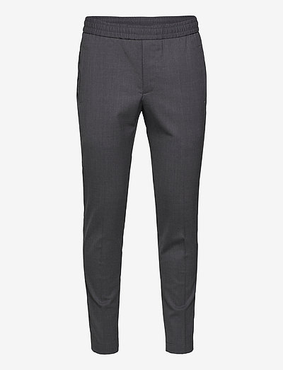 Tailored Track Trousers - casual broeken - ash grey