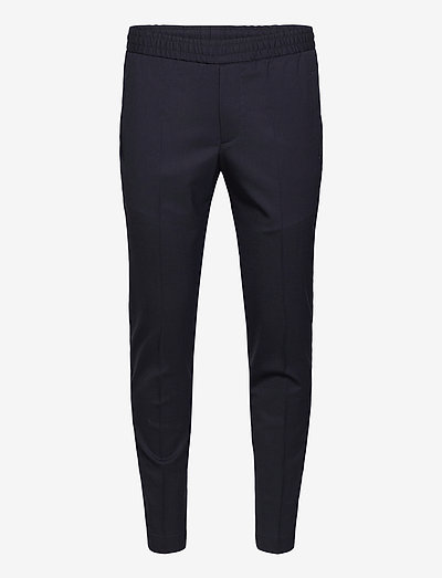 Tailored Track Trousers - casual broeken - navy